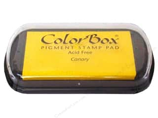 ColorBox 2 7/8 in: ColorBox Pigment Inkpad Full Size Canary