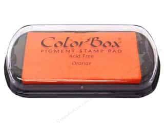 ColorBox 2 7/8 in: ColorBox Pigment Inkpad Full Size Orange