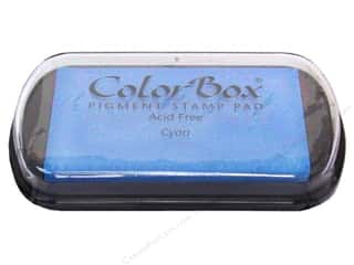 ColorBox Pigment Ink Pad Full Size Cyan