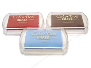 Clearance ColorBox Fluid Chalk Ink Pad Mini Size: ColorBox Fluid Chalk Ink Pad Full Size,  SALE $2.79-$4.39.