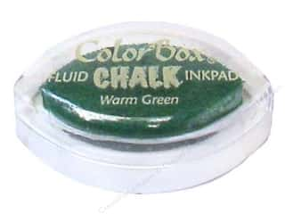 ColorBox Fluid Chalk Inkpad Cat's Eye Warm Green