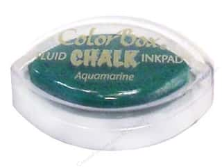 Clearance ColorBox Fluid Chalk Mini Ink Pad: ColorBox Fluid Chalk Inkpad Cat's Eye Aquamarine