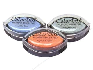cardstock sale: ColorBox Cat's Eye Pigment Ink Pad, SALE $1.39-$1.99.