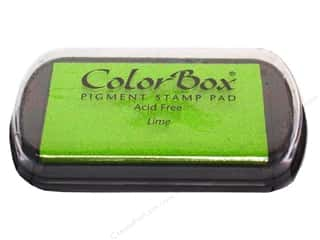 ColorBox 2 7/8 in: ColorBox Pigment Inkpad Full Size Lime
