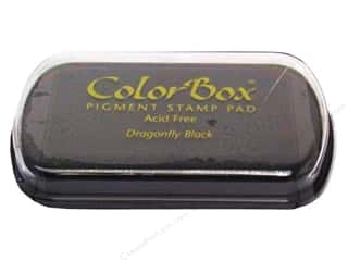 Clearance ColorBox Fluid Chalk Ink Pad Queues: ColorBox Pigment Ink Pad Full Size Dragonfly