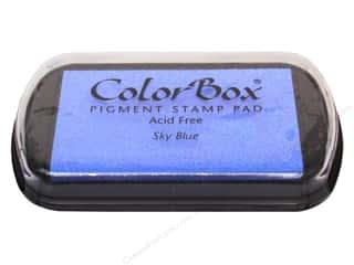 ColorBox Pigment Ink Pad Full Size Sky Blue