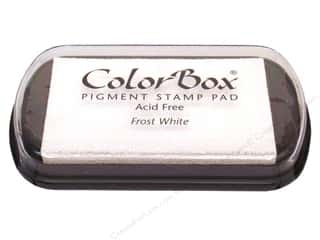 ColorBox Pigment Ink Pad Full Size Frost White