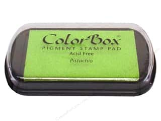 ColorBox 2 7/8 in: ColorBox Pigment Inkpad Full Size Pistachio