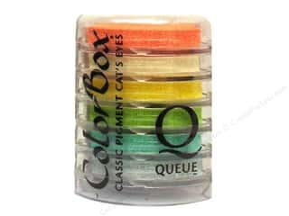 ColorBox Pigment Ink Pad Queue Rainbow Sherbet
