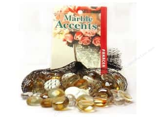 Panacea Decorative Accents Glass Gems Goldenrod Assorted 12oz