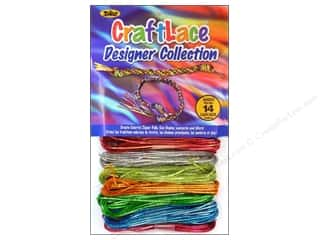 Lanyard Braiding Toner Bead 'N Stretch Cord: Toner Craftlace Value Pack Holographic