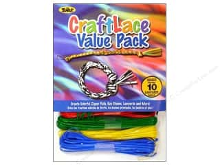 Lanyard Braiding Toner Bead 'N Stretch Cord: Toner Craftlace Value Pack Opaque