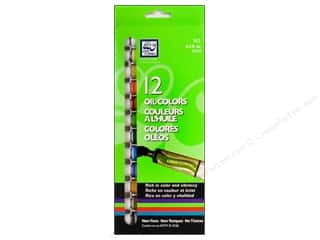 Loew Cornell Green: Loew Cornell Oil Paint Set 12 pc