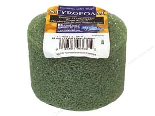 FloraCraft Styrofoam Arranger Disc 3x2 Green