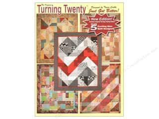 Quilting New: Turning Twenty The Original Turning Twenty Just Got Better New Edition Book by Tricia Cribbs
