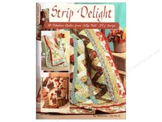 Design Originals Quilting: Design Originals Strip Delight Book