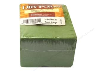 "FloraCraft Desert Foam Arranger 3.88""x 2.88""x 1.88"" Green"