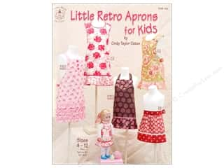 Little Retro Aprons For Kids Book