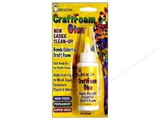 Delta Craft Glues, Adhesives & Tapes: Beacon CraftFoam Glue 2 oz.