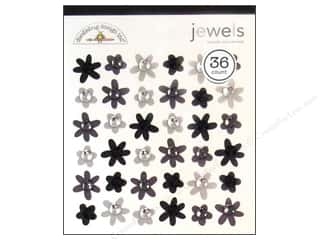 sticker: Doodlebug Sticker Jewels Assorted Tuxedo 36pc