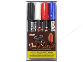 Chalk Black: Uchida Bistro Chalk Marker Set C 4 pc.