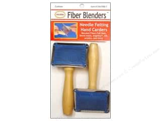 Colonial Ndl Needle Felting Hand Carders 2 pc