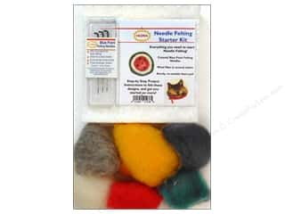 Felt Projects & Kits: Colonial Needle Needle Felting Kits Starter