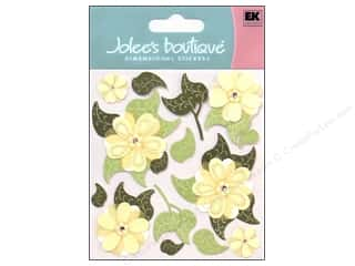 Clearance Blumenthal Favorite Findings: Jolee's Boutique Stickers Cream Buds