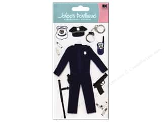 Jolee&#39;s Boutique Stickers Large Police Officer