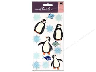 EK Sticko Stickers Sparkly Penguins