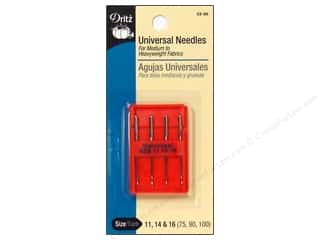 Singer: Dritz Machine Needles Universal 11,14,16 4 pc