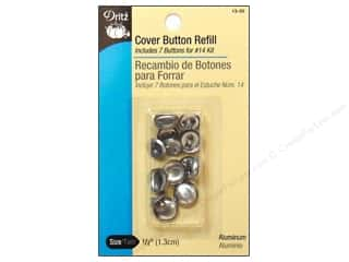 Buckles Bulk & Cover Buttons: Cover Button Refill by Dritz 1/2 in. 7 pc.