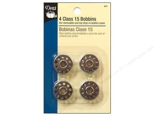 Bobbins Sewing & Quilting: Bobbins by Dritz Class 15 Metal 4 pc.