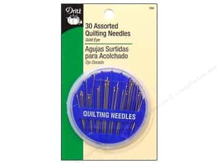 Quilting Hand Needles: Quilting Needles Assorted by Dritz 30pc.