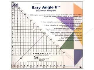 Sewing & Quilting $10 - $600: EZ Quilting 10 1/2 in. Easy Angle II Acrylic Template