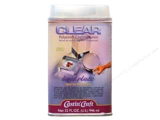 Castin'Craft Clear Poly Cstng Resn w/Catlyst 32oz