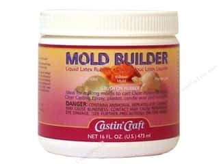Resin, Ceramics, Plaster Brown: Castin'Craft Mold Builder 16 oz