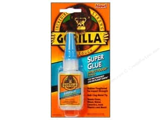 Glues Adhesives & Tapes: Gorilla Glue Super Glue Carded .53 oz