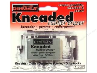 Art, School & Office Drawing Supplies: General's Eraser Kneaded Large Carded