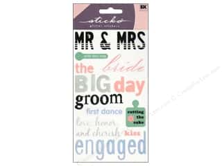 EK Sticko Stickers Wedding