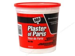 Resin, Ceramics, Plaster: DAP Plaster of Paris Dry Mix 4lb Tub