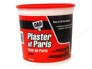 Resin, Ceramics, Plaster: DAP Plaster of Paris Dry Mix 8lb Tub