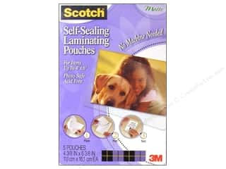 3M: Scotch Laminating Self Sealing Photo 4x6 Matte