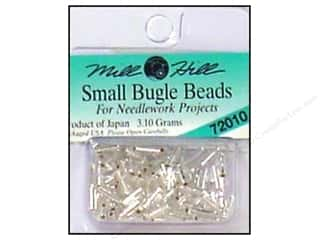 Millhill Bugle Bead Small Ice