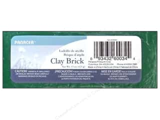 Panacea Floral Supplies Sticky Clay Brick 15oz Green