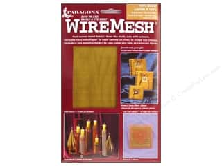 "AMACO WireMesh Woven Wire Fabric 16""x 20"" Brass"