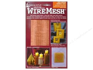 "AMACO WireMesh Woven Wire Fabric 16""x 20"" Copper"