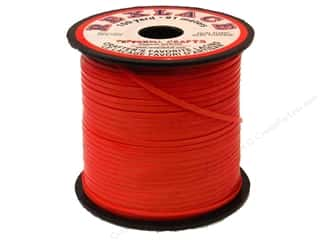 Pepperell Lace Rexlace 100yd Spool Red