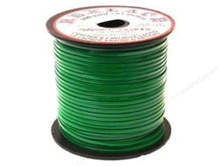 Jewelry Making Supplies Lanyard Braiding: Pepperell Rexlace Craft Lace 100 yd. Kelly Green