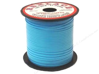 Pepperell Lace Rexlace 100yd Spool Baby Blue
